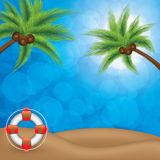 Summer holiday background Royalty Free Stock Photo