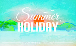 Summer holiday background Royalty Free Stock Images