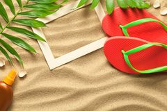 Summer, Holiday, Beach Background stock image