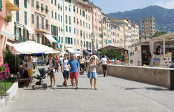 Summer holiday in Camogli Royalty Free Stock Photography