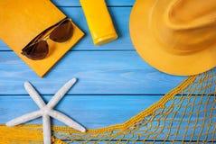 Summer holiday concept Stock Photos