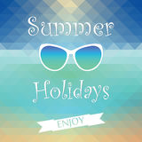 Summer holiday enjoy Royalty Free Stock Images