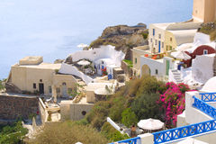 Summer holiday in greece Stock Photos