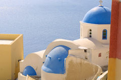 Summer holiday in greece Royalty Free Stock Images