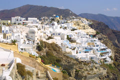 Summer holiday in greece. Hot summer holiday in greece Stock Photos