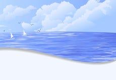 Summer holiday  illustration Royalty Free Stock Photography