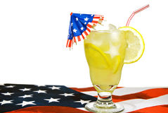 Summer Holiday Lemonade Stock Images