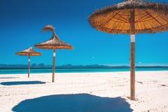 Summer Holiday in Mallorca, Spain. Playa de Muro, Majorca, Spain