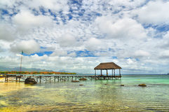 Summer Holiday at Mauritius Stock Photography