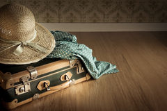Summer holiday packing Royalty Free Stock Images
