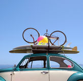 Summer holiday road trip vacation stock photo