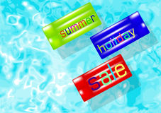 Summer holiday sale Royalty Free Stock Image