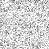 Summer Holiday seamless pattern Royalty Free Stock Photo