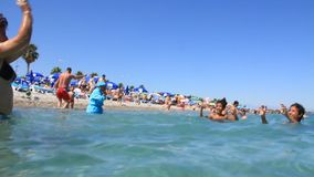 Summer holiday at the seaside Stock Photography
