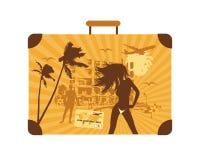 Summer Holiday, Suitcase Royalty Free Stock Image