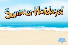 A summer holiday Stock Images