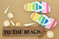 Summer Holiday Time royalty free stock images