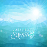 Summer holiday tropical beach background Royalty Free Stock Images