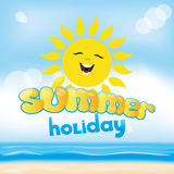 Summer holiday on a tropical beach Stock Photography