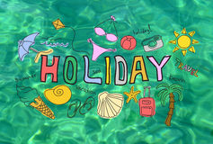 Summer holiday vacation concept Stock Photo