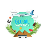 Summer holiday vacation cool sale concept,abstract  illustration Stock Image