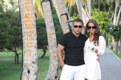 Summer holiday vacation in maldives royalty free stock photo