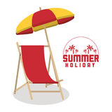Summer holiday and vacations design Royalty Free Stock Photography