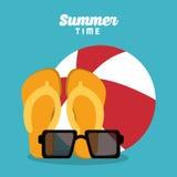 Summer holiday and vacations design Royalty Free Stock Photos