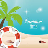 Summer holiday and vacations design Stock Photography