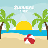 Summer holiday and vacations design Stock Photo