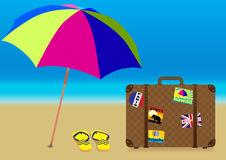 Summer Holiday - Vector Stock Images