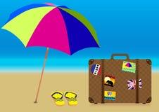 Summer Holiday - Vector royalty free illustration