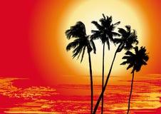 Summer holiday, vector. Summer holiday, 2d color vector Royalty Free Stock Photos