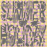 Summer holiday vector Royalty Free Stock Images