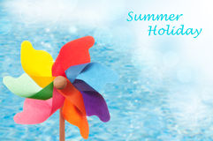 Summer Holiday Windmill Royalty Free Stock Images