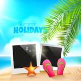 Summer holidays Royalty Free Stock Images
