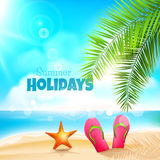Summer holidays Royalty Free Stock Photography