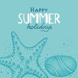 Summer Holidays background Royalty Free Stock Photo