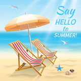 Summer holidays background wallpaper Stock Photo