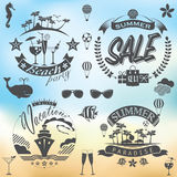For Summer holidays Stock Images