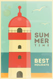 Summer Holidays Card Stock Images