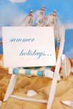 Summer holidays concept Stock Photo