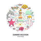Summer Holidays Concept Stock Photography