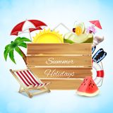 Summer holidays concept Royalty Free Stock Images