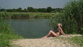 Summer holidays in countryside