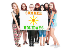 Summer holidays Stock Image