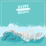Summer Holidays Design Royalty Free Stock Image