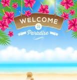 Summer holidays design Stock Photos