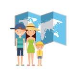 Summer holidays enjoy icon. Vector illustration design Royalty Free Stock Images