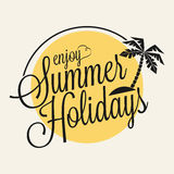 Summer Holidays Royalty Free Stock Photos